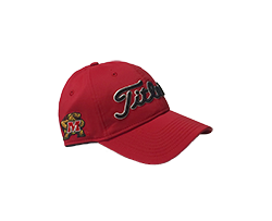 Titleist Hat with Testudo Logo in red