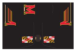 PRG MD Flag Black putter headcover