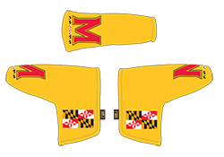 PRG Gold MD Flag Putter headcover