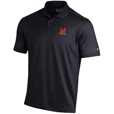 Under Armour Performance Polo Solid Black