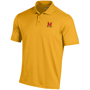 Under Armour Performance Polo Solid Gold