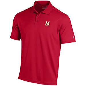 Under Armour Performance Polo Solid Red