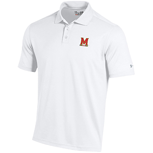 Under Armour White Performance Polo