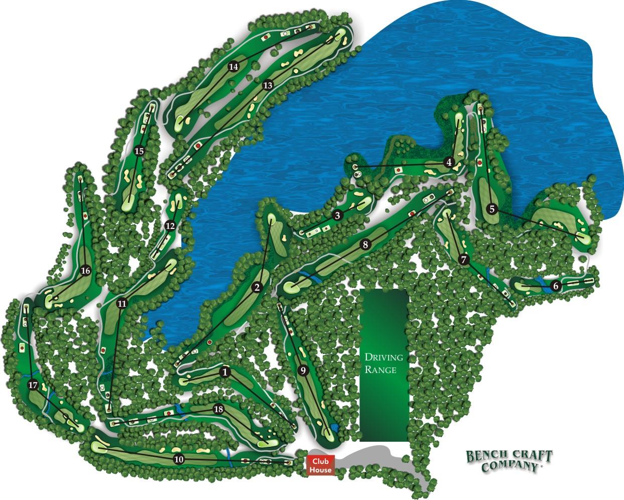 Gauntlet Course Map