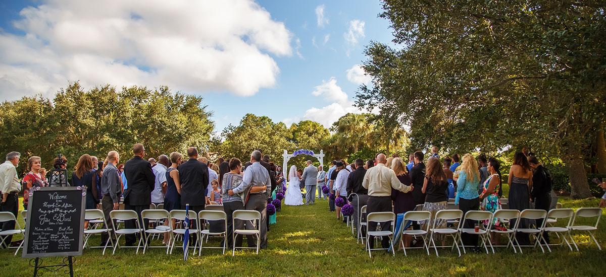 Photo Header Bardmoor Outdoor Wedding Ceremony