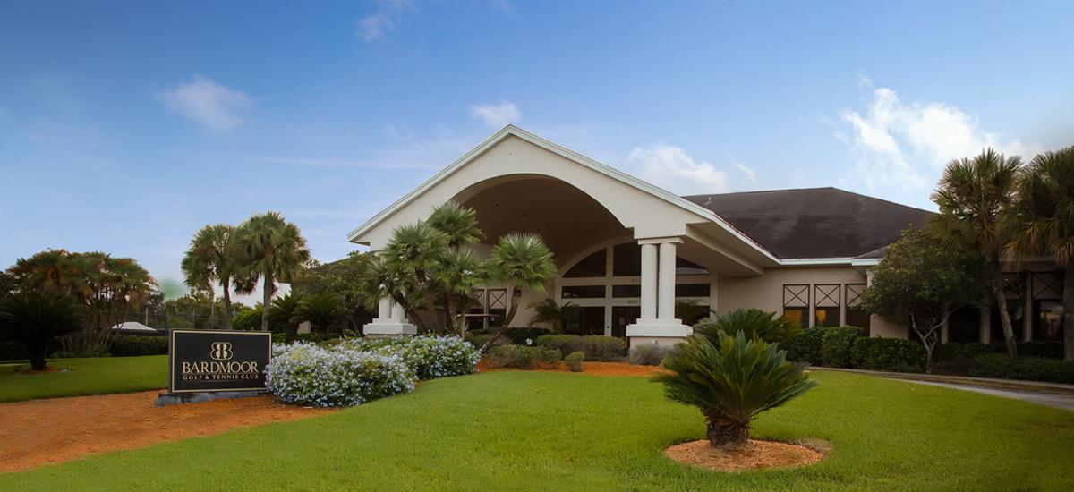 Photo Header Bardmoor Golf & Tennis Clubhouse Exterior