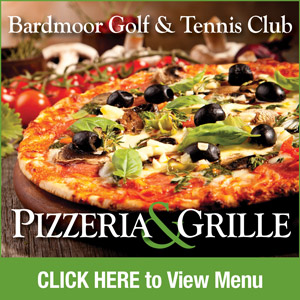 Graphic for Bardmoor Golf & Tennis Club Pizzeria with link to PDF of menu. Go to http://www.bardmoorgolf.com/-bardmoor-pizzeria-menu-text-version for text version of menu