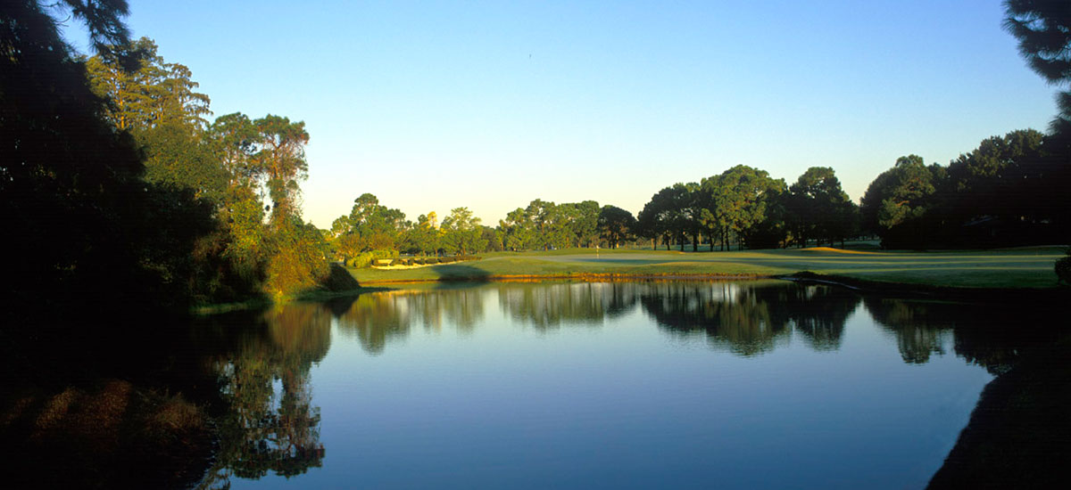 Photo Header Lansbrook Hole 7 view across lake