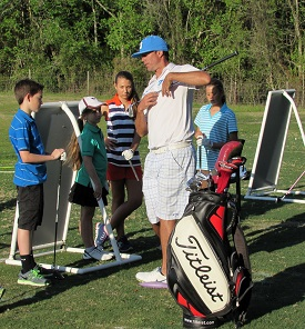 Photo Junior golf clinic