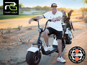 Photo - Golfer sitting on Phat Golf Scooter