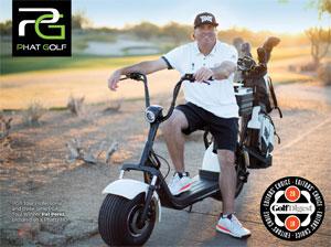 Photo - Golfer sitting on Phat Golf Scooter