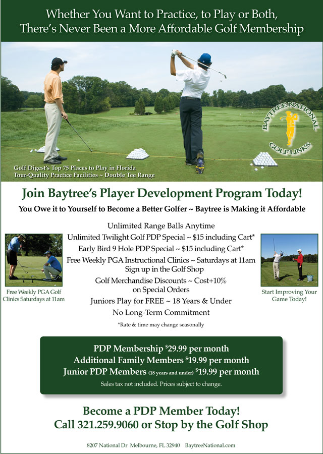 Image Player Development Program Promotional Flyer - To view text version go to http://www.baytreenational.com/-player-development-program-text-only