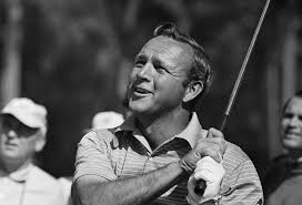Photo Arnold Palmer playing golf