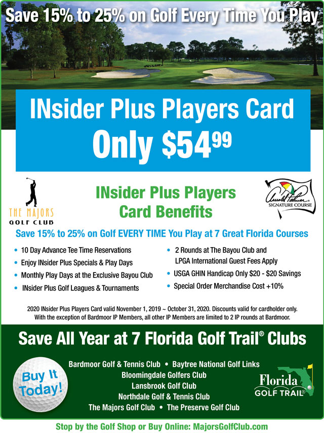 Image INsider Plus Players Card Promotional Flyer - To view text version Click below