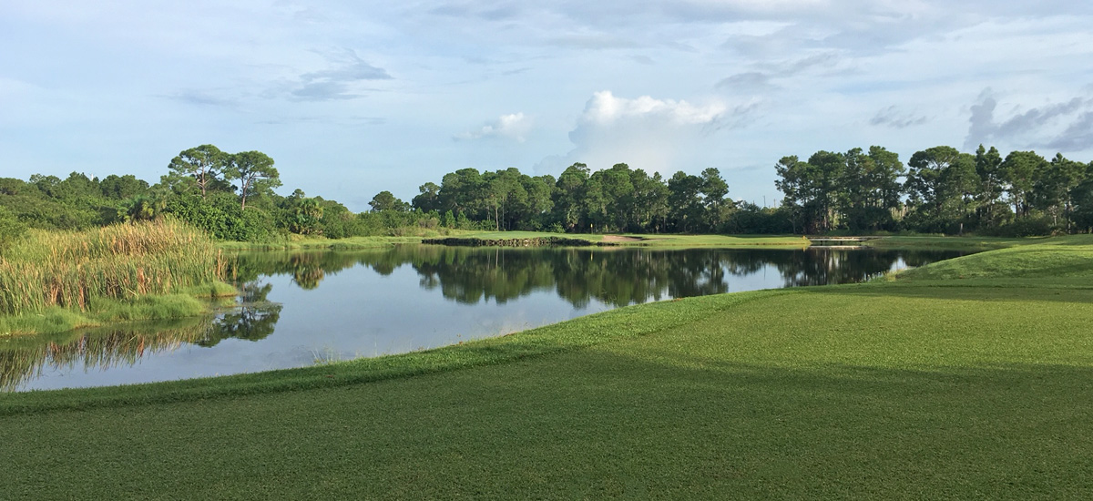 Photo Header The Majors Hole 15 Lakeview Tee to Green