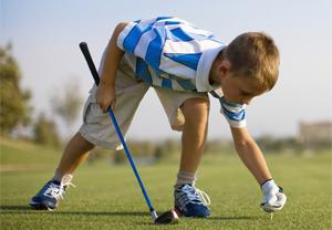 Photo of Boy Golfer