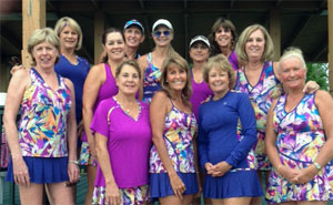 Photo - Group of Tennis Ladies