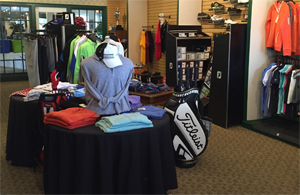Photo - National Golf Club Golf Shop showing shirts and hats