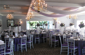 Photo - Indoor Wedding reception set up