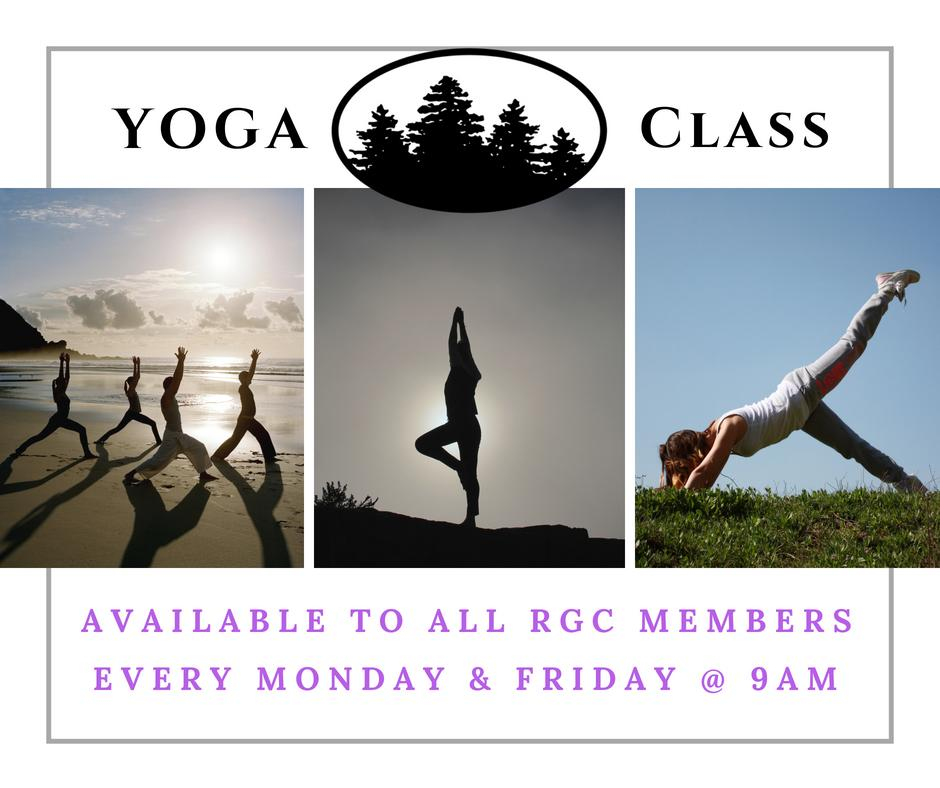 Yoga Classes Available at Rio Grande Club