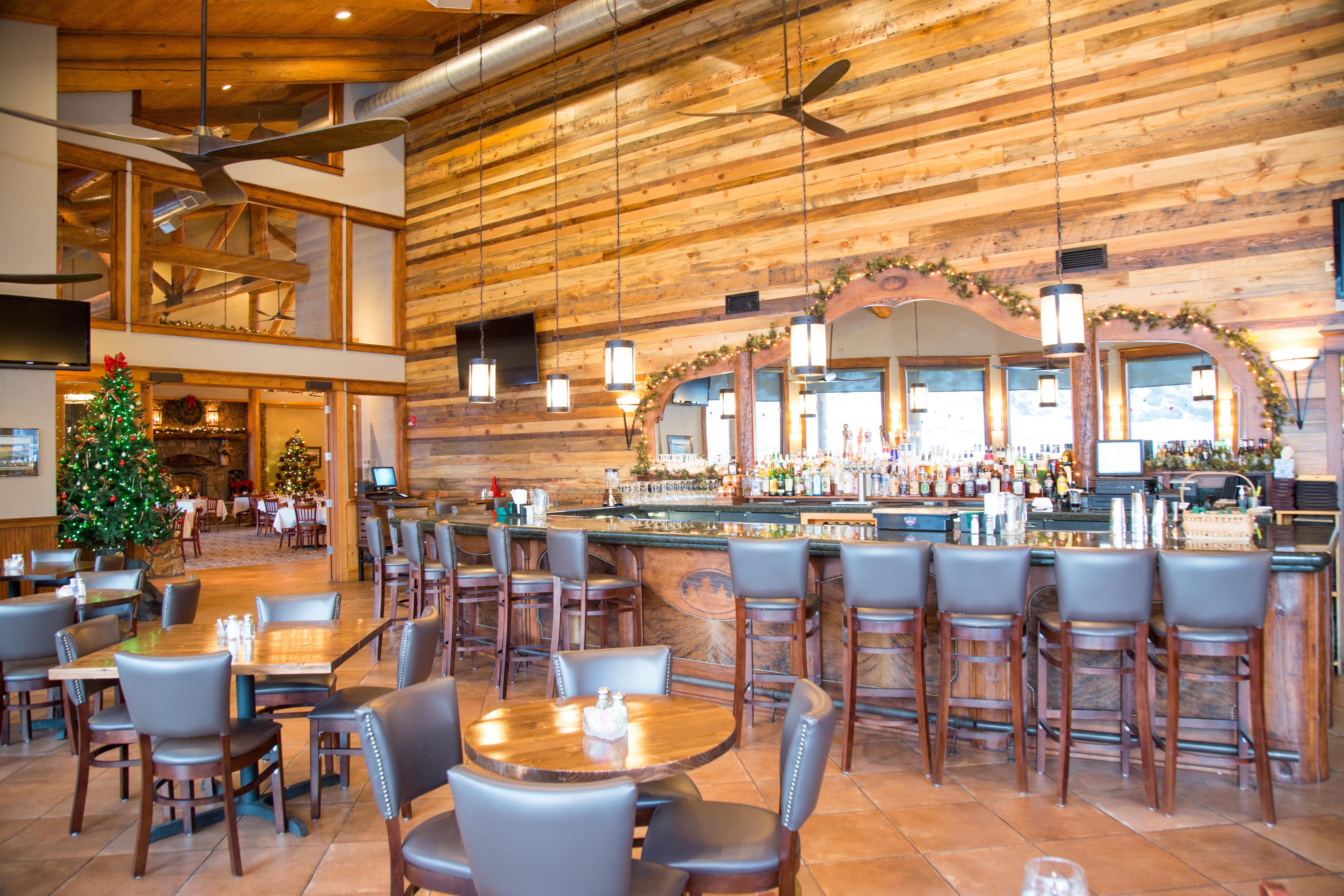 Timbers restaurant main dining room