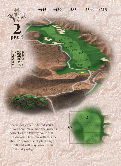 Directions To Mesquite Nevada >> Las Vegas, Nevada - Mesquite Courses - Wolf Creek Golf Resort