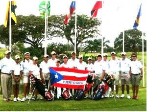 ... Puerto Rico at the 25th Caribbean Junior Amateur Golf Championships, ...