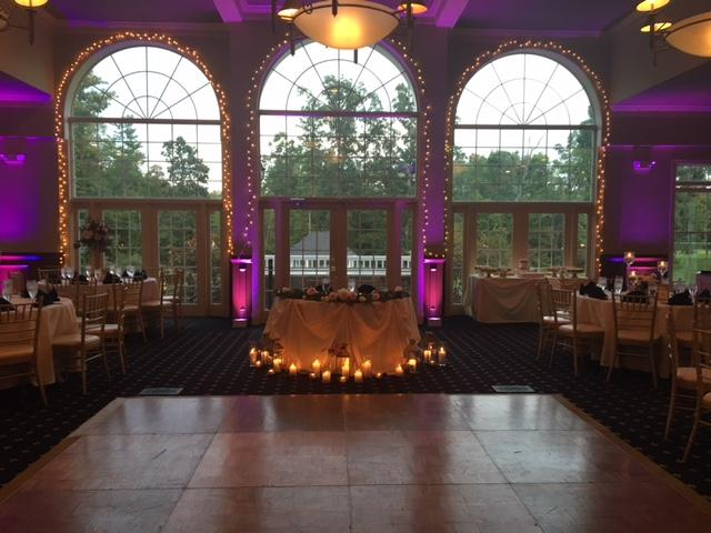 Another white wedding in our elegant Virginia dining room